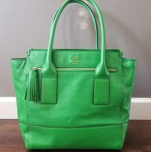 Kate spade Southport ave Linda green tote purse